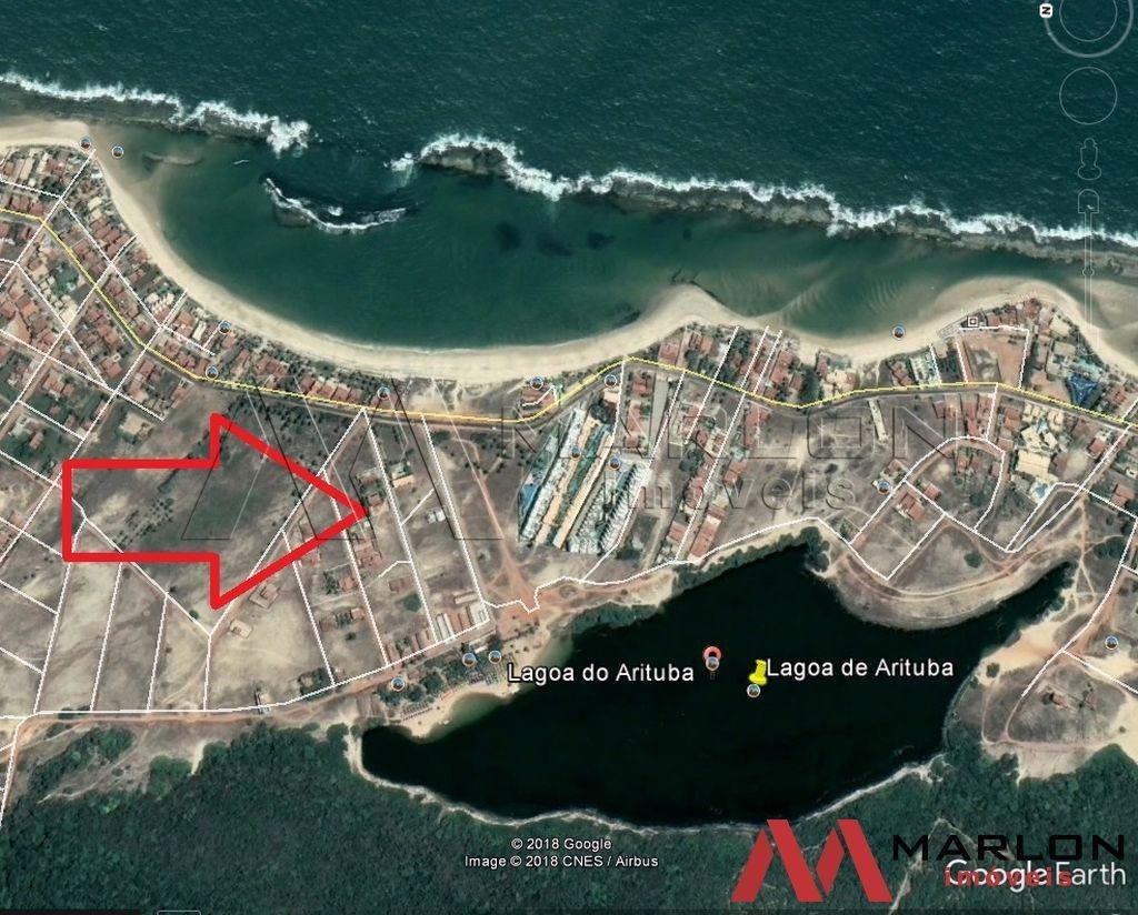 vcp00418 casa na praia de tabatinga, com 6/4, 2 suítes