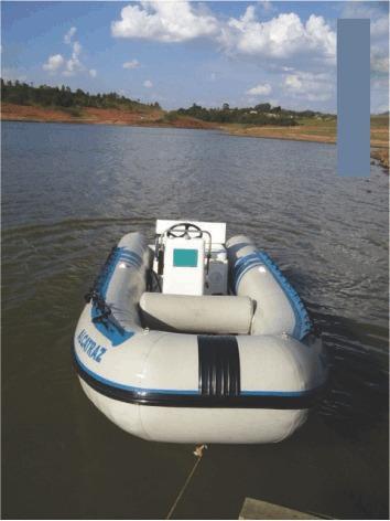 vd bote nautika sr 4.5 motor johnson 25 hp , ótimo estado