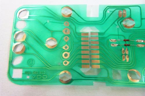 vdo malha eletrica circuito velocimetro painel chevette dl