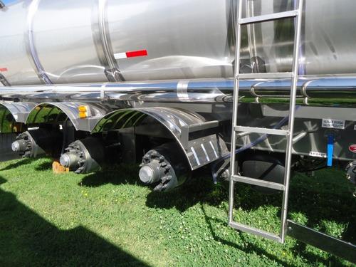 vdo semi tanque de acero inoxidable 42.000l 3 en tandem 0-km