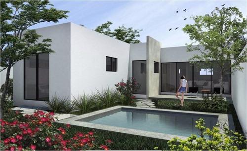vdr-17016 casa de 1 sola planta en preventa en kanan residencial