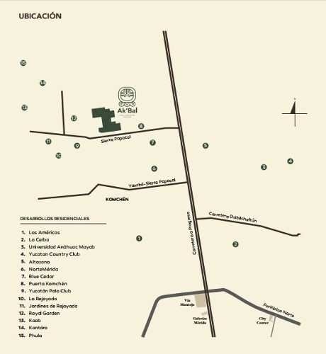 vdt-17006 ak`bal lotes campestres en venta con servicios en zona norte