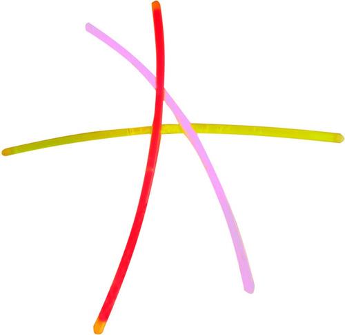 vecctronica: paquete 10 varitas o pulseras de cyalume neon !