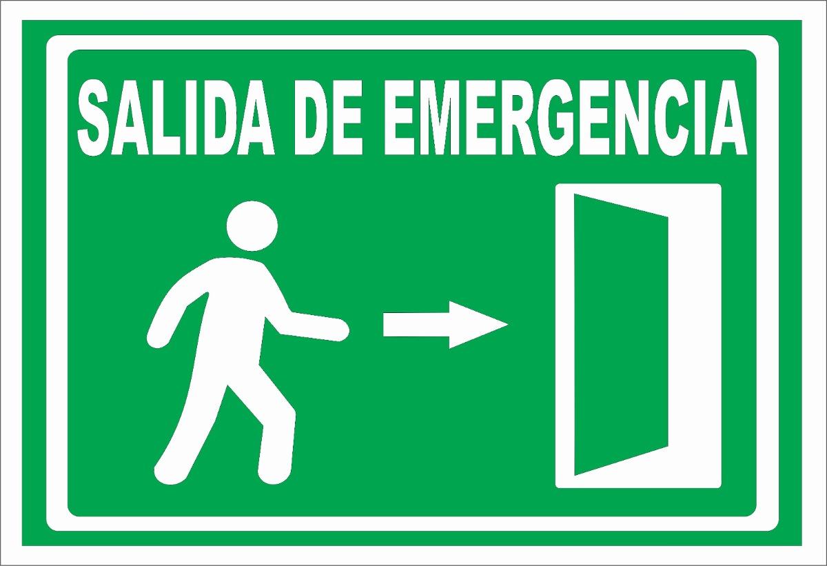 vector salida de emergencia 2 en mercado libre