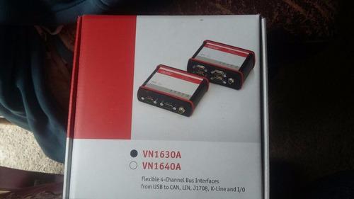 vector vn1630a flexible 4-channel bus interface can/lin nib/