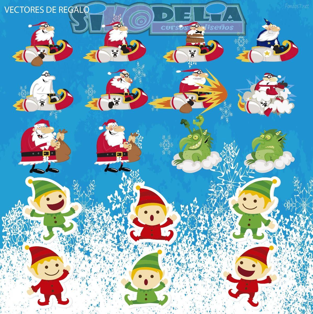 Vectores De Navidad Para Costalitos Para Corel E Illustrator ...