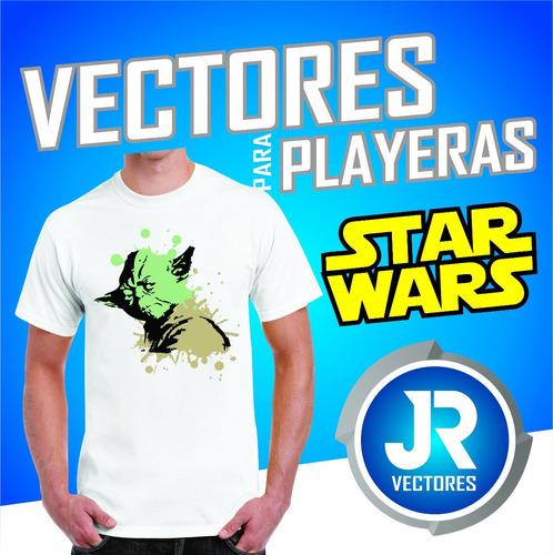 vectores para playeras de star wars