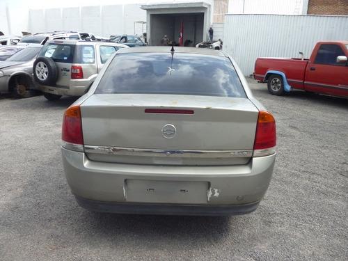 vectra 2006 accidentado,motor 3.2 v6,transmision automatica