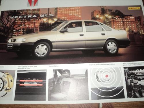 vectra gls 1993 folheto