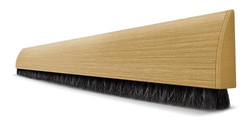 veda porta adesivo - marrom claro - 100cm - comfort door