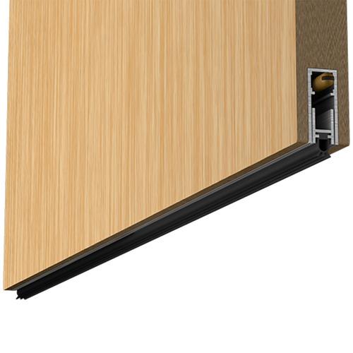 veda porta automático contra insetos poeira comfortdoor 92cm