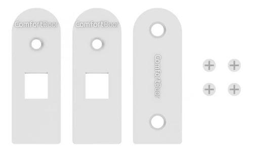 veda porta pino automático interno 92cm - comfort door