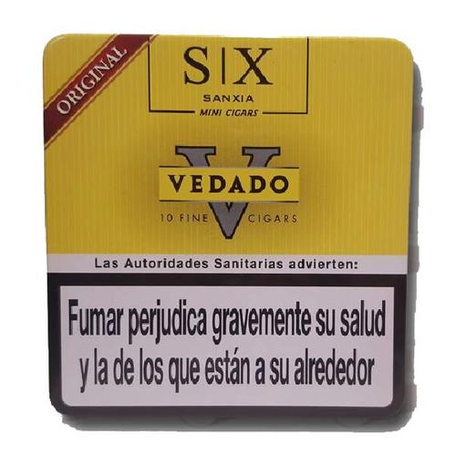 vedado mini original lata x30 cigarros cigarritos puritos