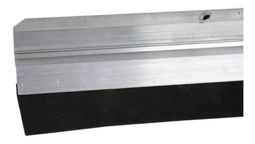 vedante para porta aluminio borracha 80cm novo horizonte