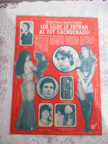 vedettes revistas orbita de 1977. 18 revistas