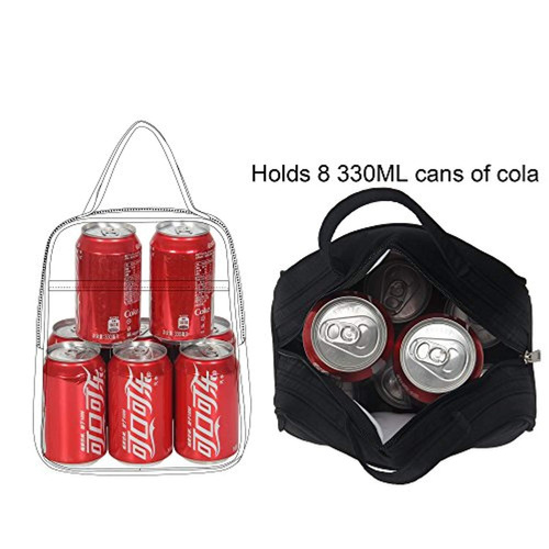 veegul reciclaje refrigerador bolsa de almuerzo