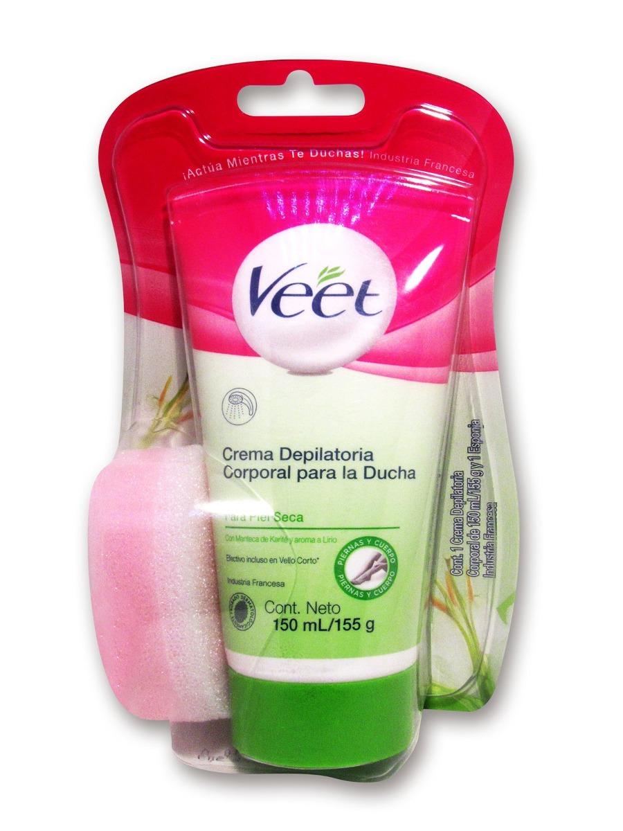 veet - crema depilatoria corporal -ducha piel seca-150 ml. Cargando zoom. 9e972d9920c3