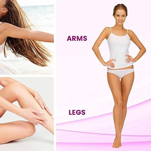 veet tiras para depilacion de piernas y cuerpo con cera fria