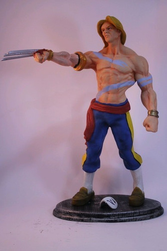 vega street fighter escultura 40 cm