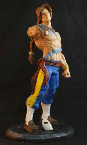 vega street fighter escultura 40 cm