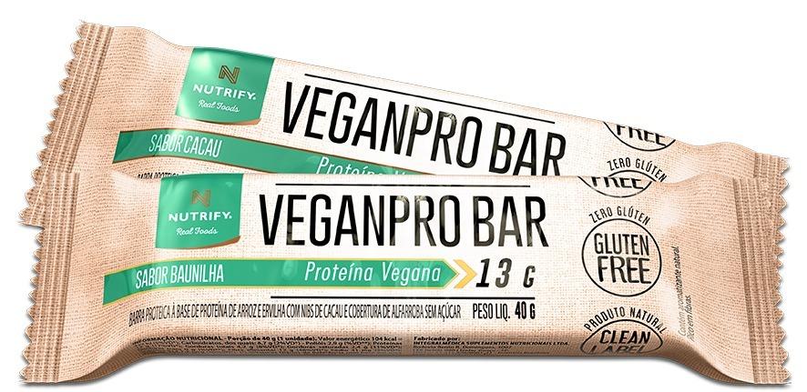 1145f4de3 Veganpro Bar Caixa 10un - Barra De Proteínas Vegana - R  69