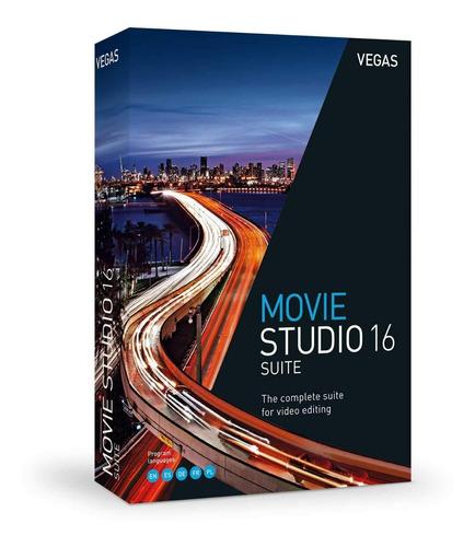 vegas movie studio 16 suite editor video licencia original