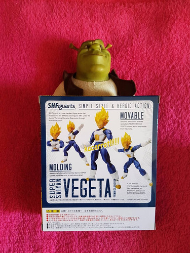 vegeta advance color ssj1 sh figuarts dragon ball version jp