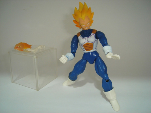 vegeta dragon ball z boneco totalmente articulado dbz kai