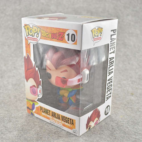 vegeta planet arlia figura funko pop!! dragon ball z