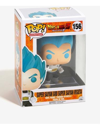 vegeta super saiyan god figura funko pop!!