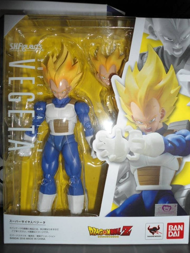 vegeta super saiyan s.h. figuarts bandai dragon ball z nuevo