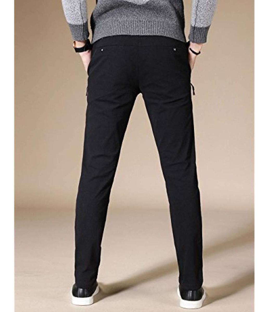 VEGORRS Mens Solid Loose Fit Casual Pants 528pants