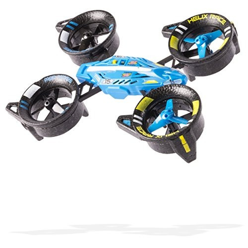 vehiculo air hogs helix race drone 24 ghz blue rc