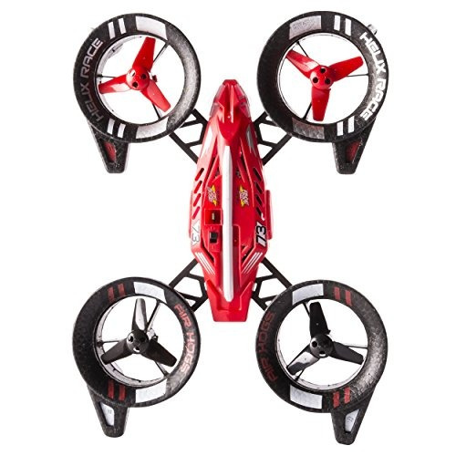 vehículo air hogs helix race drone 24 ghz red rc