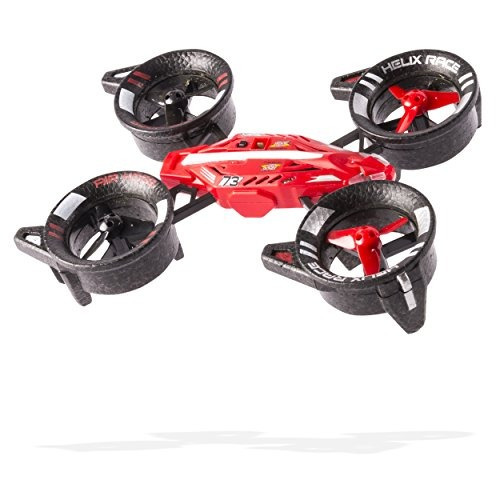 vehiculo air hogs helix race drone 24 ghz red rc