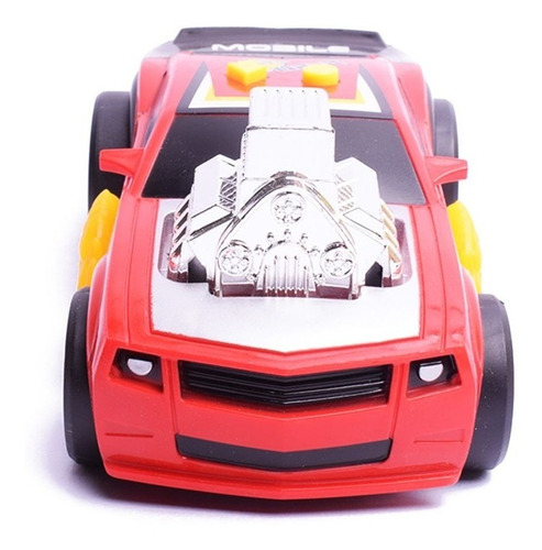 vehiculo auto con luz y sonido nitro power v-8