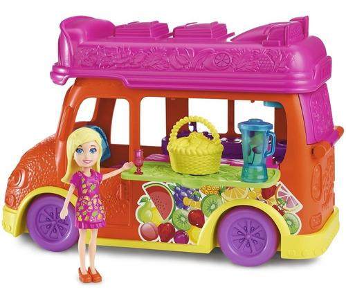 vehículo aventura de frutas - polly pocket