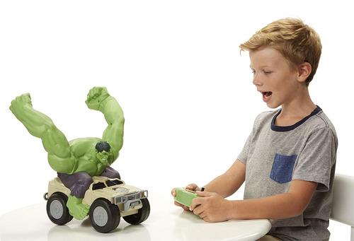vehículo de juguete avengers xpv marvel rc hulk smash