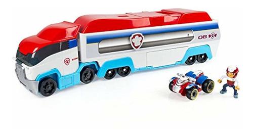 vehículo de rescate de juguete de paw patrol