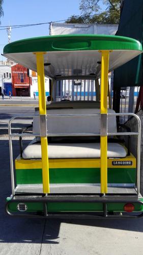vehiculo de transporte turistico eléctrico