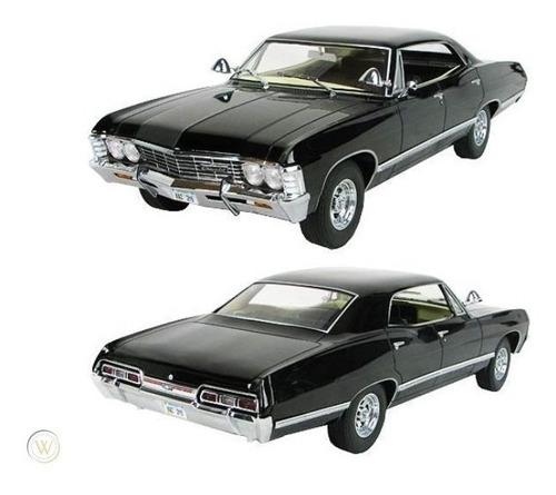 vehículo escala 1:24 - chevrolet impala 1967 - super natural
