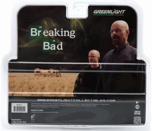 vehículo escala 1:64 - fleetwood bounder rv  - breaking bad