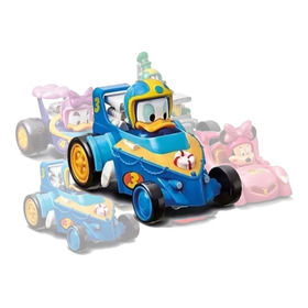 Vehiculo Friccion Mickey Aventuras Sobre Ruedas Disney 13cm
