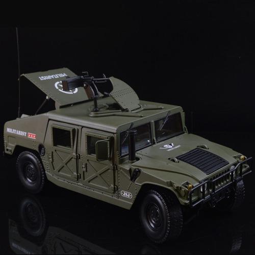 vehículo militar ejército humvee battlefield escala 1/18