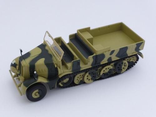 vehículo militar schwere zugkraftwagen 18t, 1/72 ed. sol90