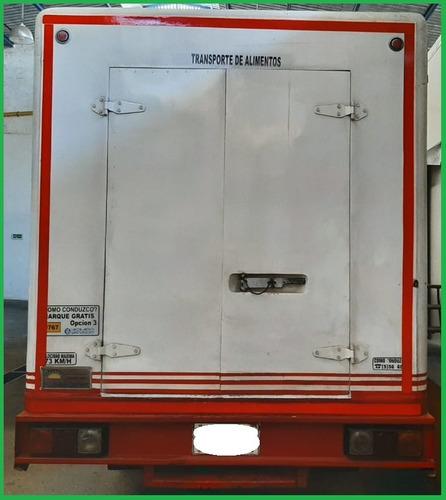 vehiculo nkr iii (3) - tipo furgón - thermoking de congelaci
