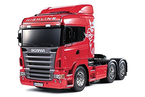 vehículo tamiya rc scania r620 highline