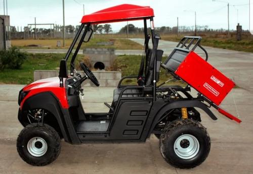 vehiculo utv utilitario rancher 150cc caja volcadora at
