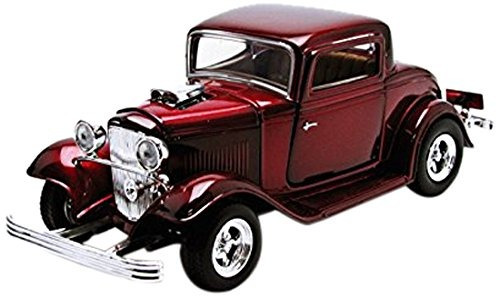 vehiculos : 1932 ford coupe black 1:24 diecast mo buho store