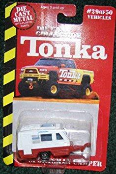 vehículos de juego,juguete tonka die cast #29 of 50 red ..